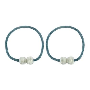 1Pair Curtain Magnetic Tiebacks