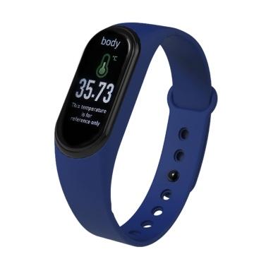 M4 Pro Smart Armband Temperatur Herzfrequenz Blutdruckmessgerät Activity Tracker