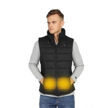 Men Women Heated Vest Winter Warm Heated Vest