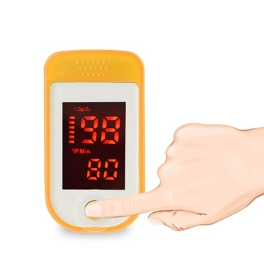 Fingertip Pulse Oximeter LED Digital Display