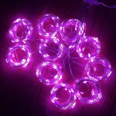 Curtain Lights USB Powered Fairy Lights String Waterproof 8 Modes Twinkle Lights for Parties Bedroom Wedding Valentines