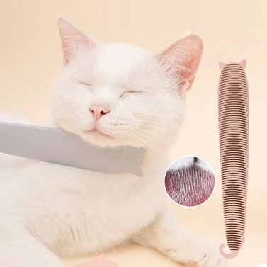 Cat Brush Cat Comb Cat Grooming Brush Cat Tongue Textured Grooming Brush