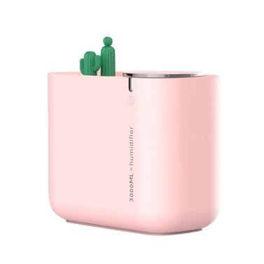 Cactus Humidifier Large Capacity Mute Humidification Air Fresher Air Diffuser