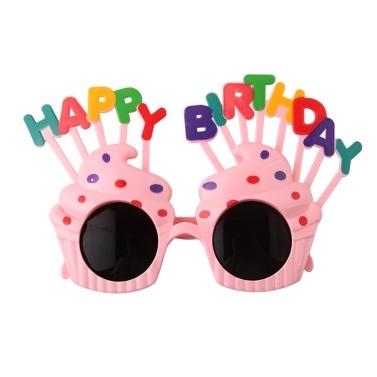 Mini Birthday Party Glasses Decoration