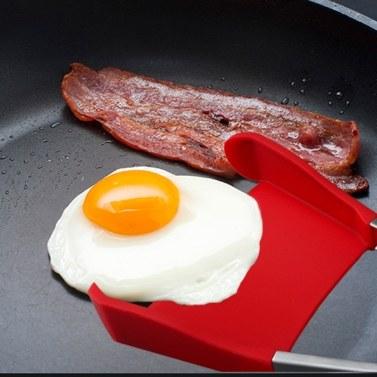 Clever Zangen 2 in 1 Antihaft-Hitzebeständige Silikon-Spachtel-Küchen-Werkzeug-Spitzenverkäufer