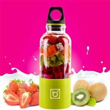 500ml Electric Juicer Cup Mini Juice Maker Fruit Mixer Squeezer