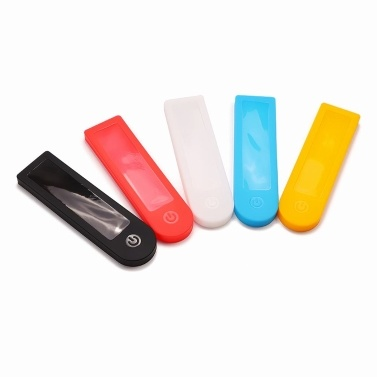 Waterproof Silicone Dashboard Cover Transparent Rubber Panel Case Dust Proof Protective Shell Compatible with Xiaomi M365 Pro Electric Scooter