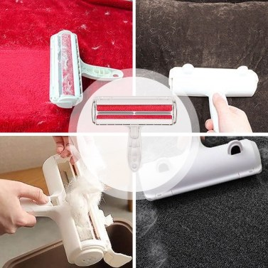 Pet Hair Remover Roller Dog Hair Remover Animal Hair Removal Tool for Furniture Couch  Carpet Car Seat