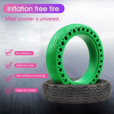8.3inch Electric Scooter Wheel Tire Electric Scooter Tire Tyre Non-slip Replacement Tire Compatible with Xiaomi M365