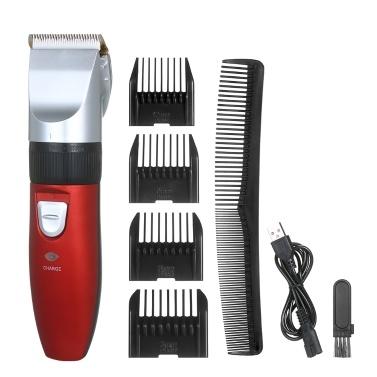 Haarschneidemaschine für Männer Schnurloser Haarschneider Herren-Trimmer-Kit Geräuscharmer Trimmer für Männer Pflege-Clipper-Set