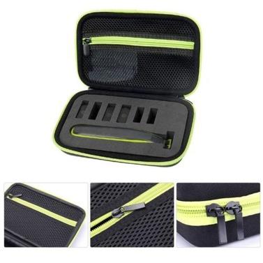 Hartschale für Philips Norelco OneBlade QP2520 / 90/70 Reisetasche Schutzhülle Aufbewahrungstasche