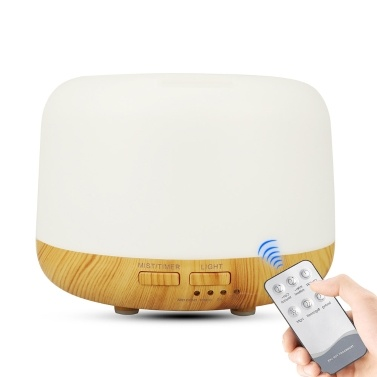 300 ml Luftbefeuchter mit großer Kapazität Aroma-Diffusor mit ätherischen Ölen für Home Office-Autolebelhersteller geräuschlos mit LED-Lampe