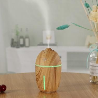 USB Mini Air Humidifier Portable Car Aroma Essential Oil Diffuser Wood Grain Electric Aroma Lamp Fog Mist Maker