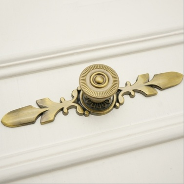 4PCS Retro Style Doorknob Back Panel Applicable