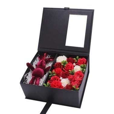 Soap Rose Flower in Gift Box