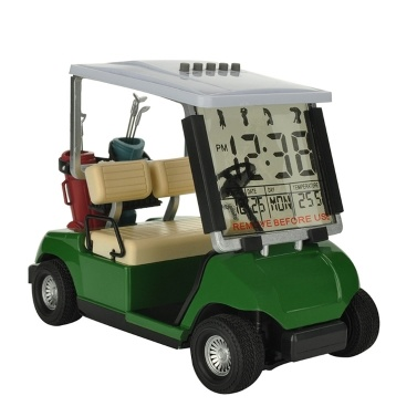 Golfs Cart Model Electronic Alarm Clock