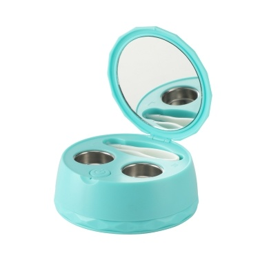 Contact Lens Cleaner Soft Lenses Cleaning Machine Portable 58KHz Frequency USB Contact Lens Care