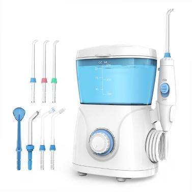 Homgeek UpgradeTragbare Munddusche Dental Elektrischer Wasserspender Anti-Leckage WasserMundreiniger