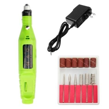 Nagelbohrmaschine Elektrische Maniküre Pediküre Werkzeuge Gelpoliermittel Cutter