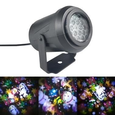 Weihnachtsschneeflocke-Projektor-Lichter