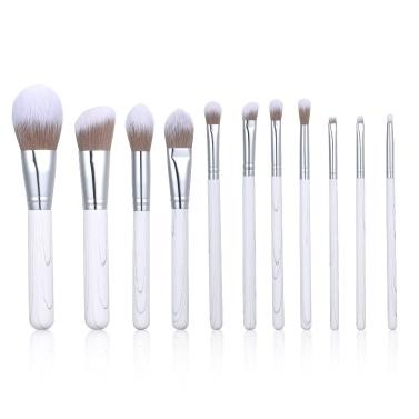 11PCS Makeup Cosmetic Brushes Kit Set