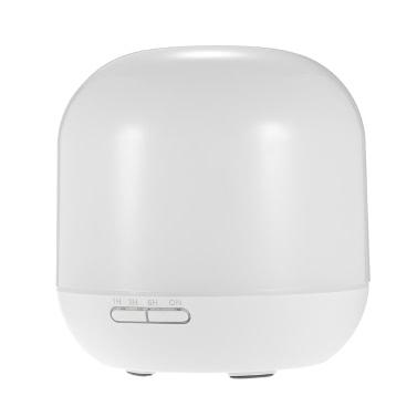 Wesentliche 300ml Aromaöl Diffusor Ultraschall-Luftbefeuchter Büroreiniger kühlen Nebel-Hersteller mit 4 Timer-Einstellungen 7 LED Farben-Licht-Auto Shut-off