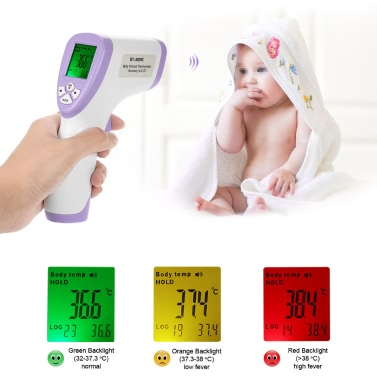 Digital LCD Non-contact IR Infrared Thermometer