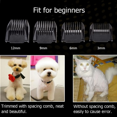 BaoRun Hot Sale Professional Grooming Kit Electric Rechargeable Pet Dog Cat Animal Hair Trimmer Clipper Shaver Razor Set Cutting Machine