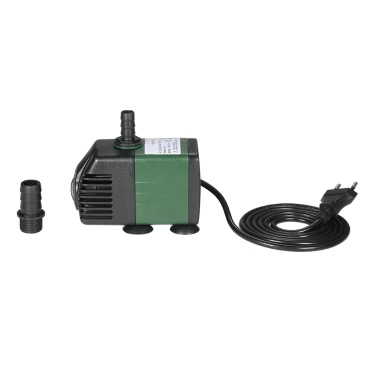 1500L/H 25W Submersible Water Pump for Aquarium Tabletop Fountains Pond Water Gardens and Hydroponic Systems with 2 Nozzles AC110V