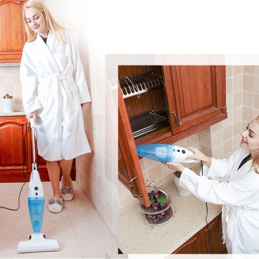 41% OFF Mini Household Handheld Dry Wet Amphibious Vacuum Cleaner,limited offer $34.99