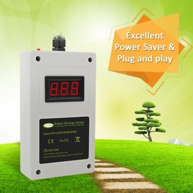 Household Energy Saving Appliances White Intelligent Power Saver Box Smart LED Electricity Saving Device