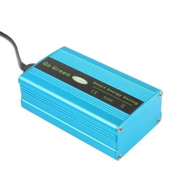 90V-265V 50HZ/60HZ Household Power Energy Saver Smart Saving Box Blue Intelligent Electricity-Saving Appliance