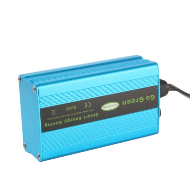 90V-265V 50HZ/60HZ Household Power Energy Saver Smart Saving Box Blue Intelligent Electricity-Saving Appliance