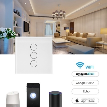 35% OFF Smart Touch Glass RC Light Switch,limited offer $16.74