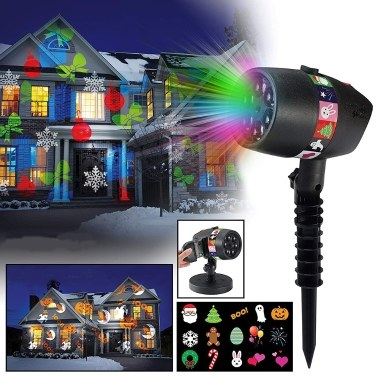 62% OFF 12 Pattern Slides Dazzling Laser Light Show,limited offer $18.39