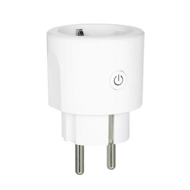 AC 100-240V 16A Smart Wi-Fi-Stecker Sprachsteuerung Kompatibel mit Alexa / Google Home