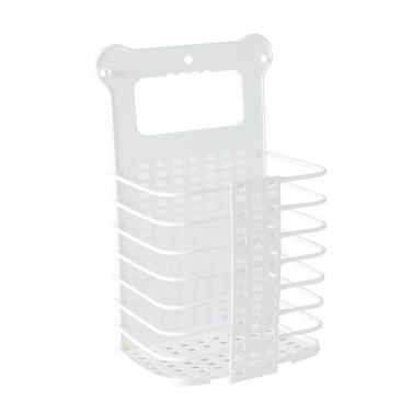 Laundry Basket Plastic Collapsible Laundry Hamper Foldable Storage Basket