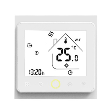 Wi-Fi Smart Thermostat Temperature Controller APP Control 5A Compatible with Alexa/ Google Home Water/ Gas Boiler Thermostats for Home
