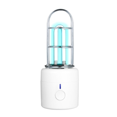 UV Light Portable UV Lamp Ultraviolet and Ozone Cleaning Light Rechargeable UV Light