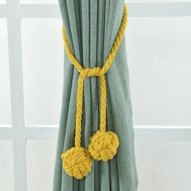 1Pair Curtain Tiebacks Rope