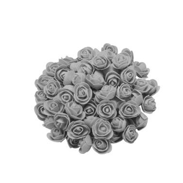 100 STÜCKE Simulation PE Schaum Rose Blütenköpfe Blase Blütenköpfe Diy Handgemachte Schaum Blume Köpfe Kopfschmuck Girlande Valentinstag Dekoration Pe Rose 3,5 CM
