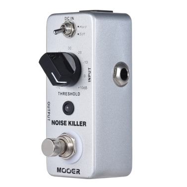 MOOER NOISE KILLER Mini Rauschunterdrückung Gitarreneffektpedal 2 Modi True Bypass Full Metal Shell