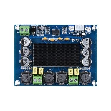 Dual-channel Audio Power Amplifier Module 120W + 120W Digital Stereo Amp Board Amplify DIY Circuit Board Car Vehicle Computer Speaker DIY Sound System
