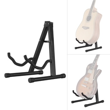 Universal A-Frame Guitar Stand Foldable String Instrument Bracket