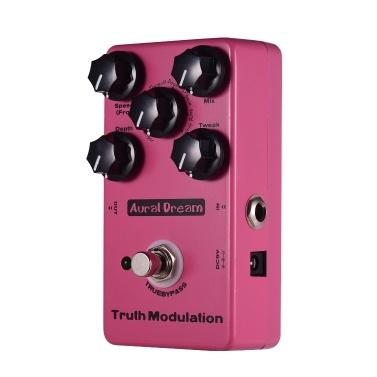 Aural Dream True Modulation Guitar Effect Pedal 8 Sound Modes