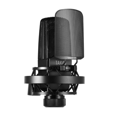 TAKSTAR TAK45 Professional Recording Microphone Condenser Mic Uni-directional 34mm Large Diaphragm
