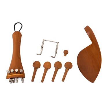 13pcs 4/4 Violin Fiddle Parts Accessories Violin Accessory Kit