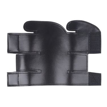 Trumpet Valve Guard PU Leather Protective Sleeve Protector for Trumpet Black