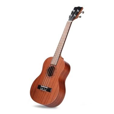 26 Zoll Kinderimitat UKulele 4-Saiter tragbares Gitarreninstrument für Kinder
