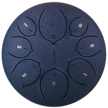 8 inch 8 Notes Steel Tongue Drum Mini Hand Pan Drums Drumsticks Percussion Musical Instruments